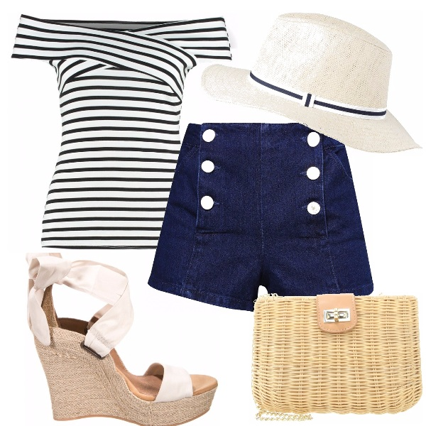 Outfit Stile marinerè