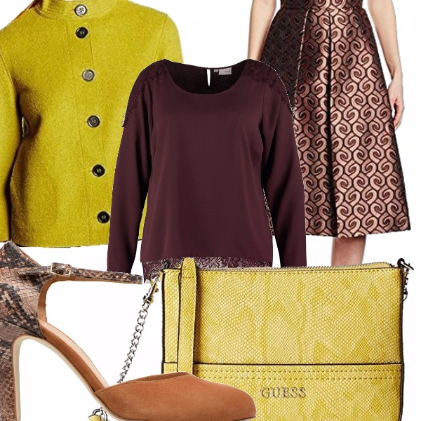 Outfit Tinte color terra