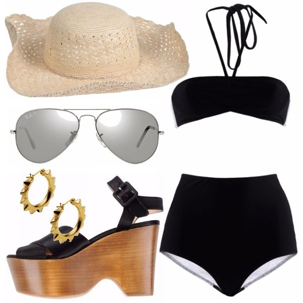 Outfit On the beach.