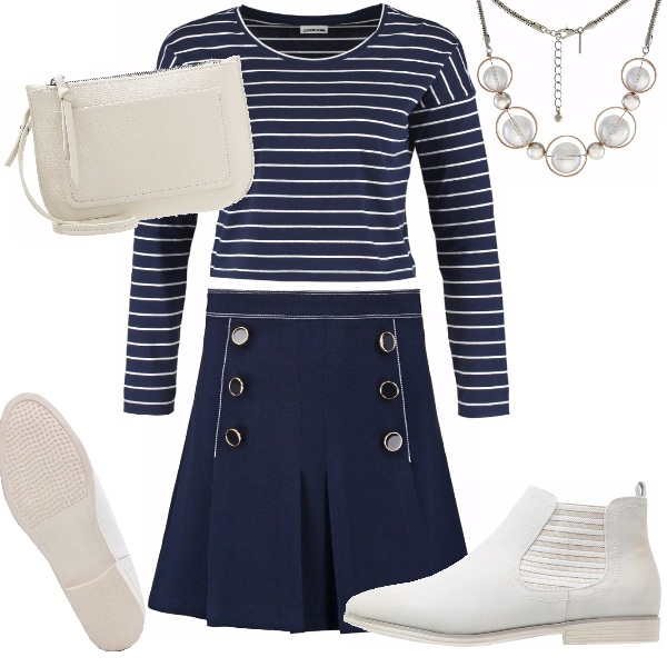 Outfit Lo stile marine