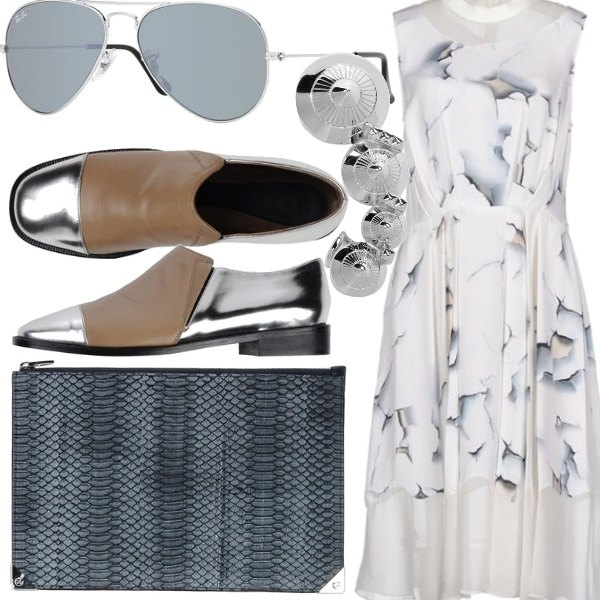 Outfit White shadows