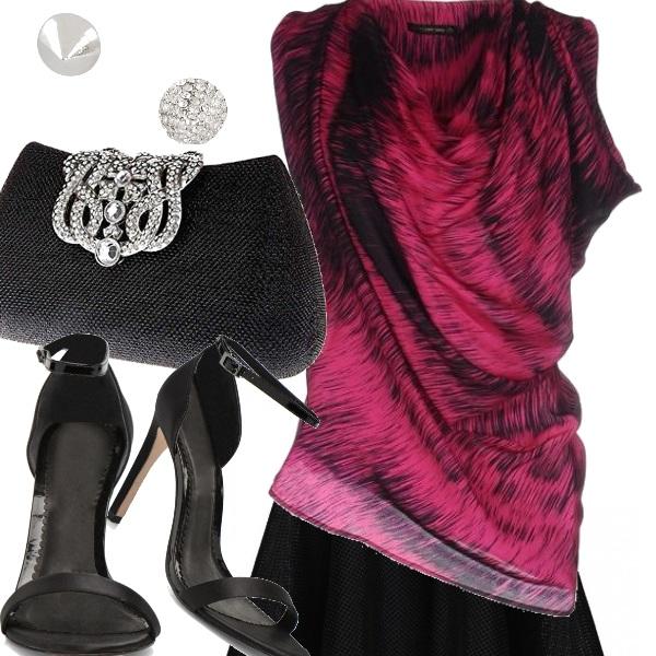 Outfit Basta una blusa