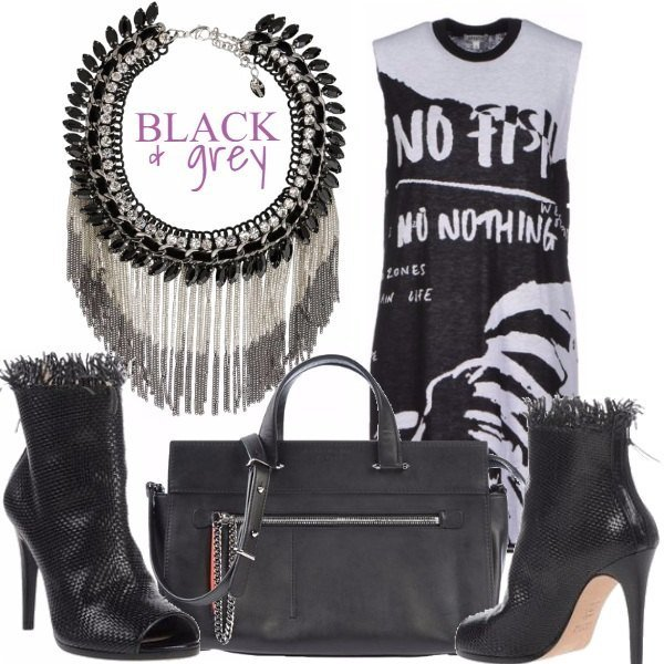 Outfit Black & Grey