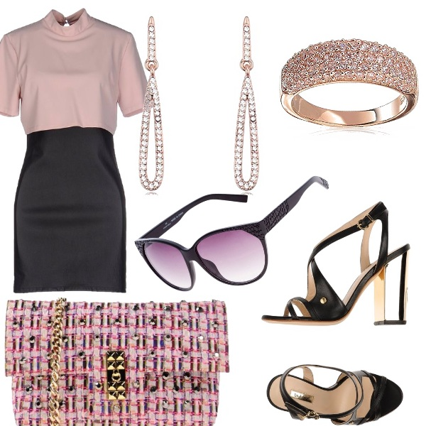 Outfit Evanescente rosa
