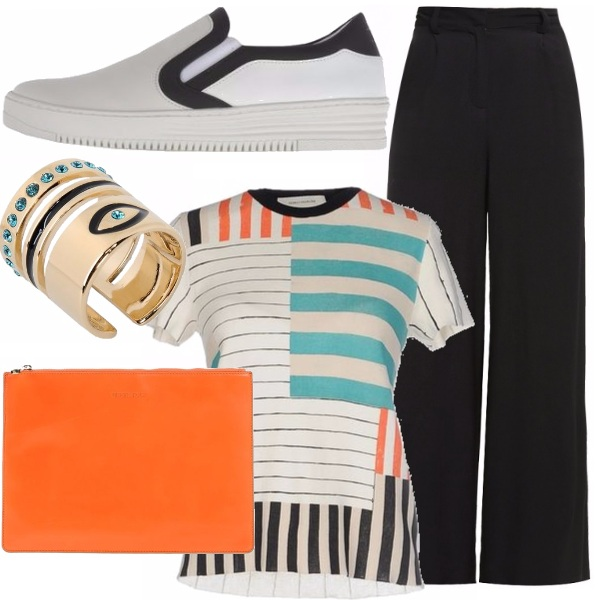 Outfit Righe special