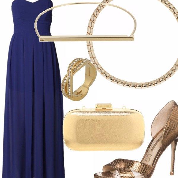 Outfit Bagliori d'oro