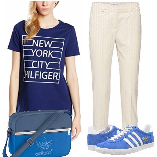 Outfit Blue school