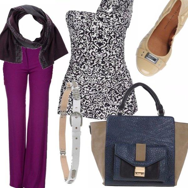 Outfit sbuffi di colore