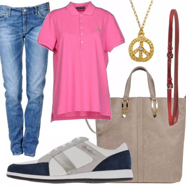 Outfit Jeans & Polo