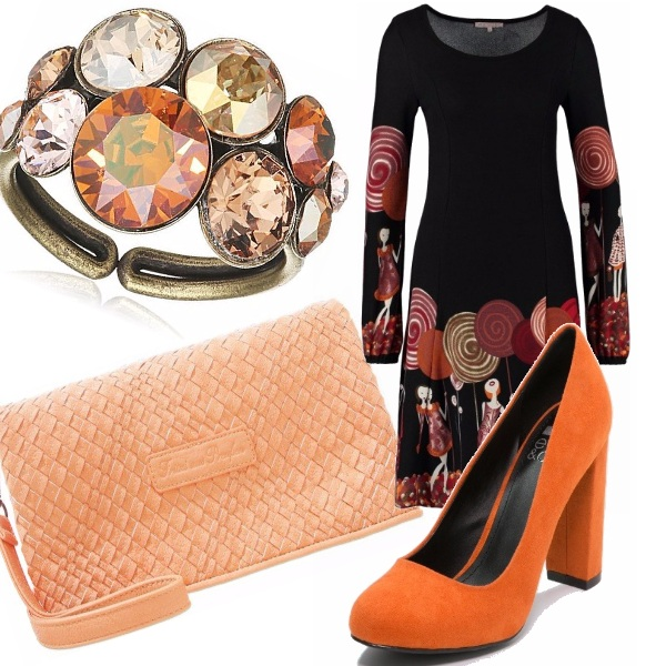 Outfit Fashion in orange