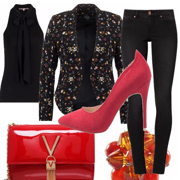 Outfit Blazer multicolor