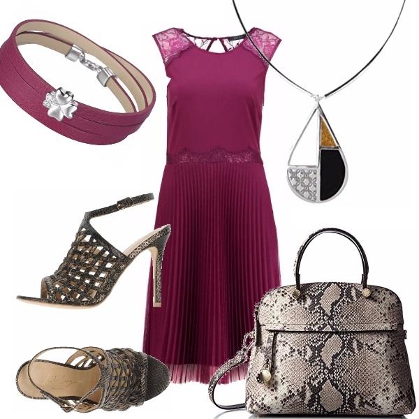 Outfit L'abito plissè