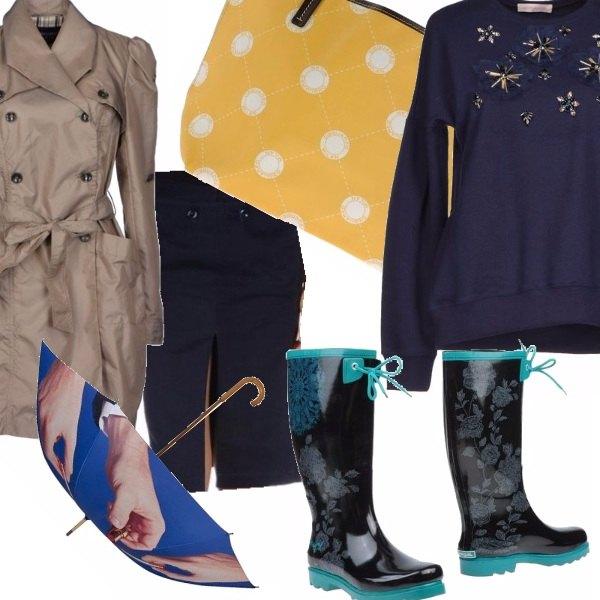 Outfit In caso di pioggia...