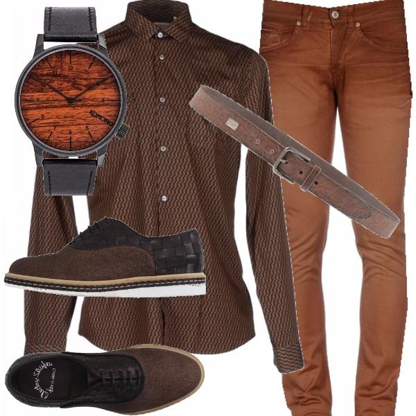 Outfit Color legno