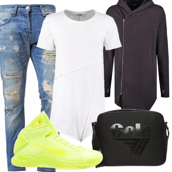 Outfit Asimmetrie urbane