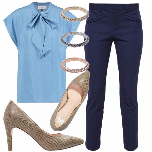 Outfit Indossa il tuo stile sotto la divisa