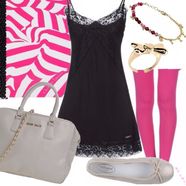 Outfit Pink Summer