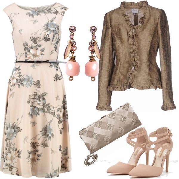 Outfit Elegante e romantico