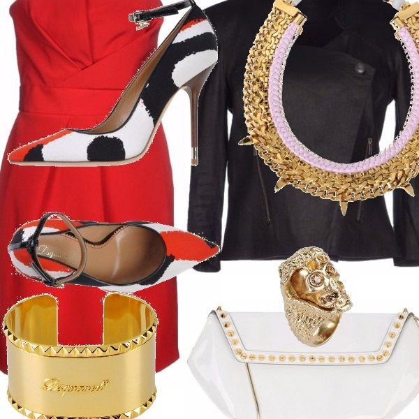 Outfit The red sedution