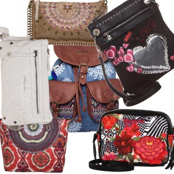 Outfit Tutte per una borsa, Desigual per tutte