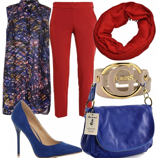 Outfit Fantasia multicolore