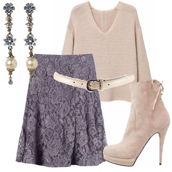 Outfit Con i colori neutri