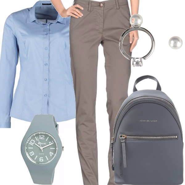 Outfit Una donna mascolina
