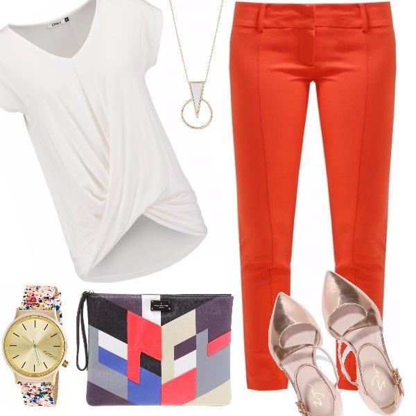 Outfit Minimal, ma colorato!