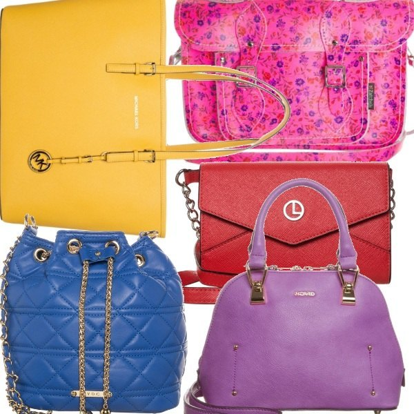 Outfit Color twist: choose your bag