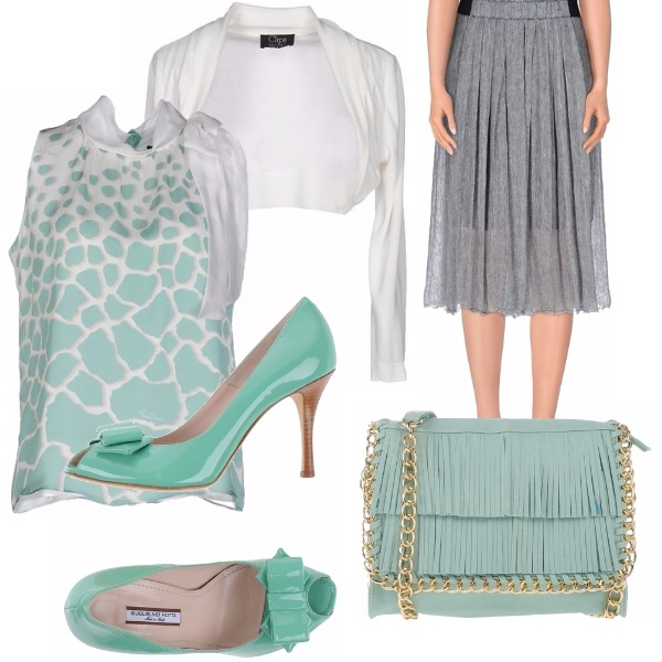 Outfit Verde menta