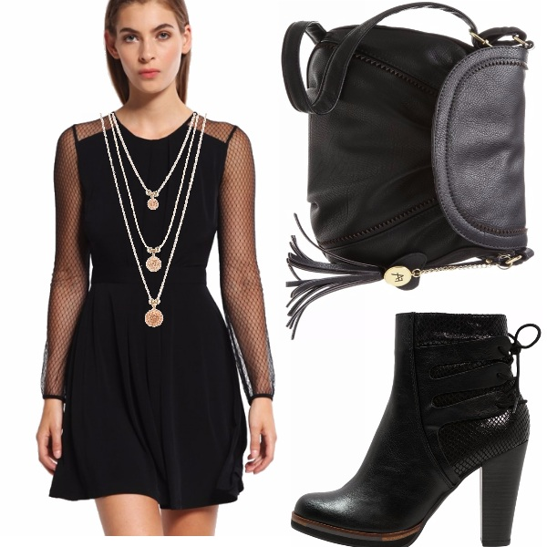 Outfit Black party autunnale!