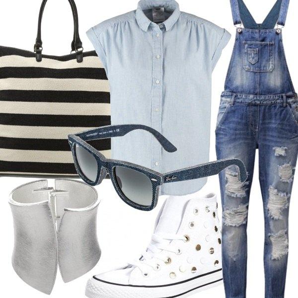Outfit Viva la salopette!!