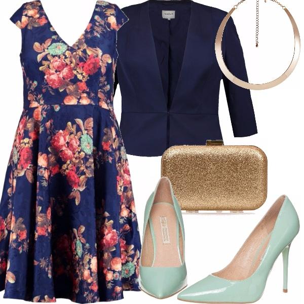 Outfit Eleganza in blu