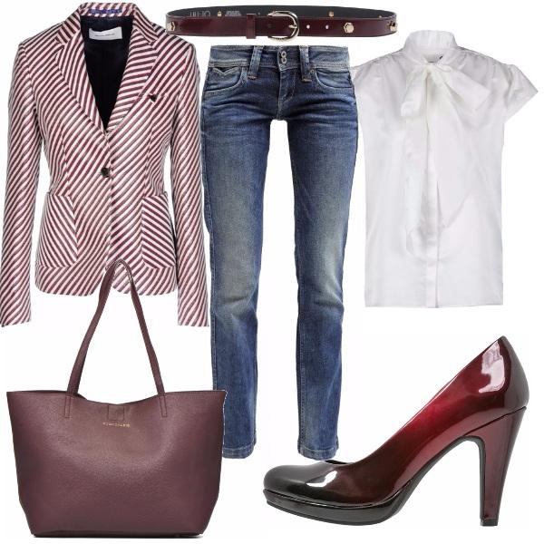 Outfit #mynewblazer