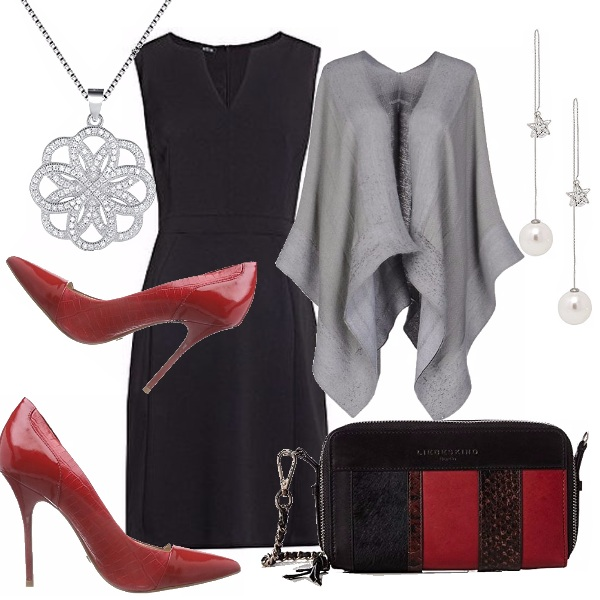 Outfit Tocchi di rosso...all'autunno!