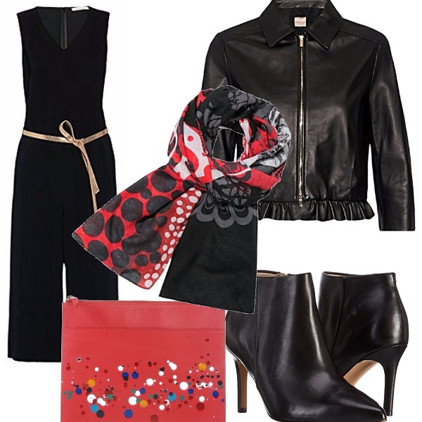 Outfit Rosso d'autore