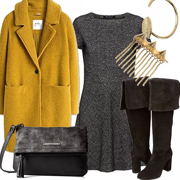Outfit Il tocco di colore che non deve mancare!