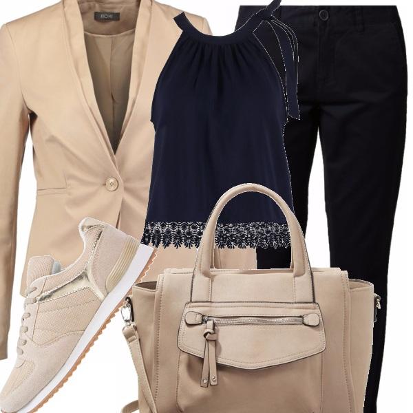 Outfit Beigeblu