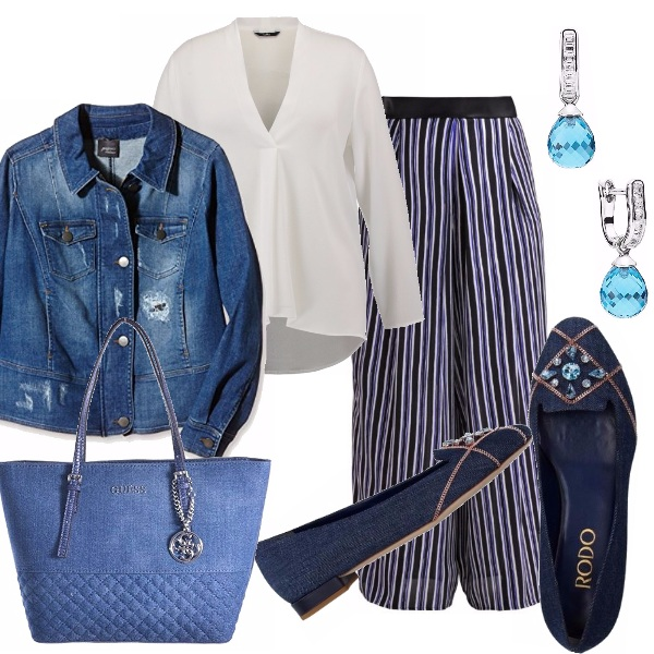 Outfit Curvy...molto denim