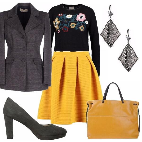Outfit Autunno colorato