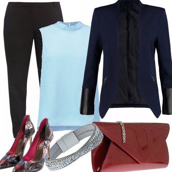 Outfit B&b - black and blu