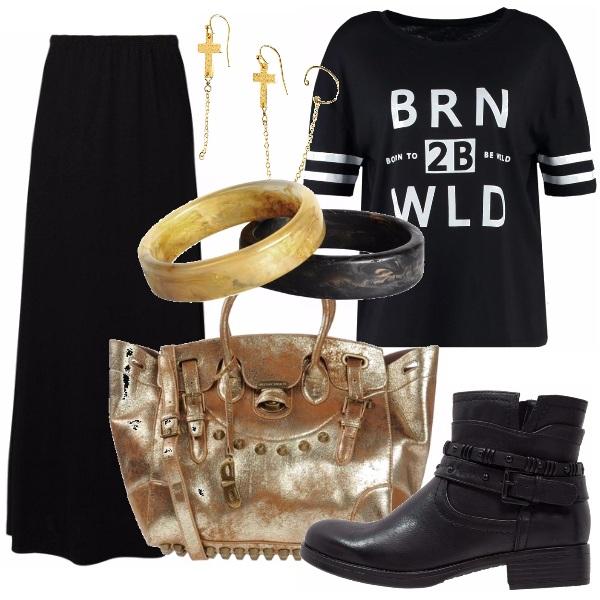 Outfit Rock di giorno