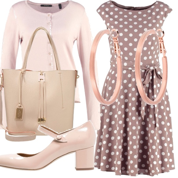 Outfit A pois.