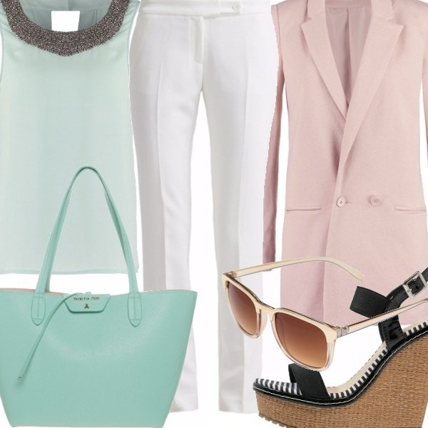 Outfit Un mondo color pastello