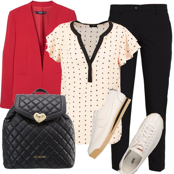 Outfit Pois che passione!