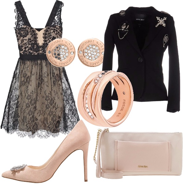Outfit Modern copper