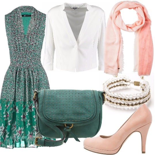 Outfit Vestito fiorato
