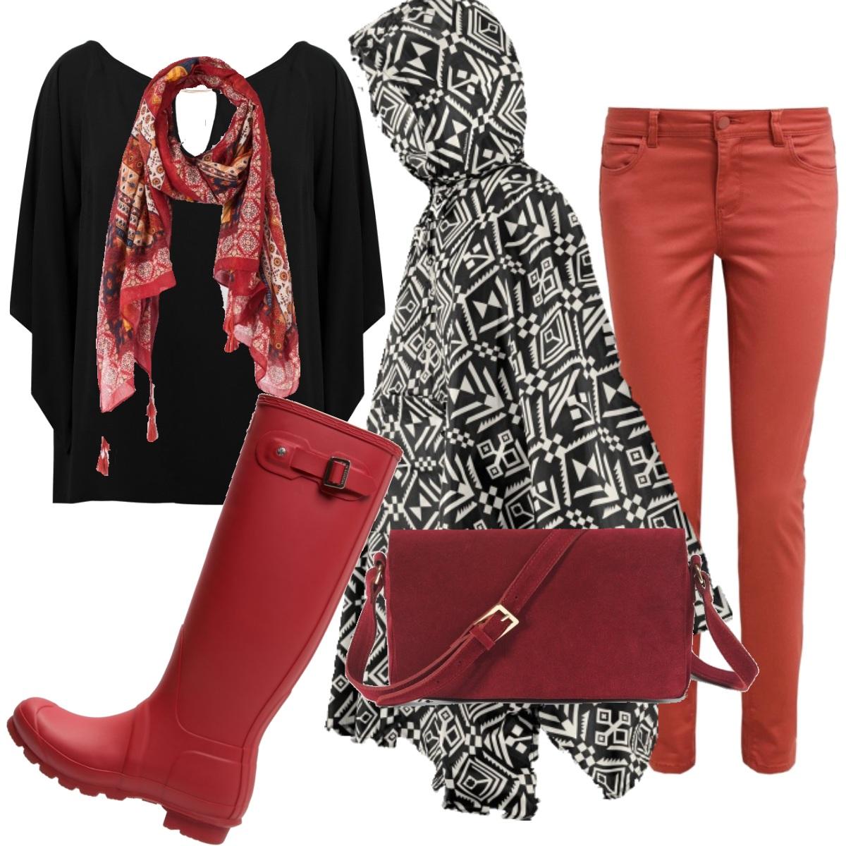 Outfit E' venerdi e piove