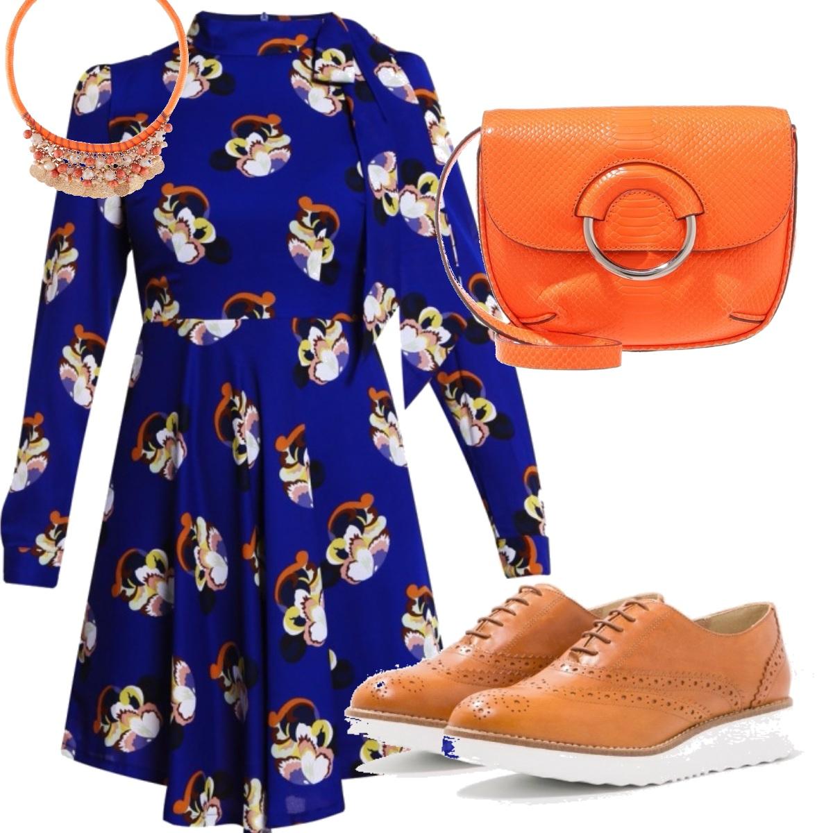 Outfit Vestito con stampa