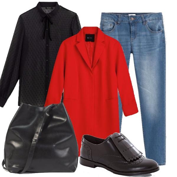Outfit Mademoiselle à la garçonne